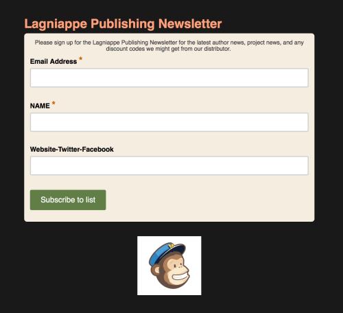 Lagniappe Publishing Newsletter